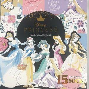 Disney Princess 15 Days of Socks Advent Calendar